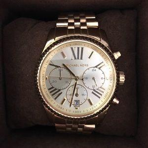 Michael Kors Lexington Gold-Tone Watch
